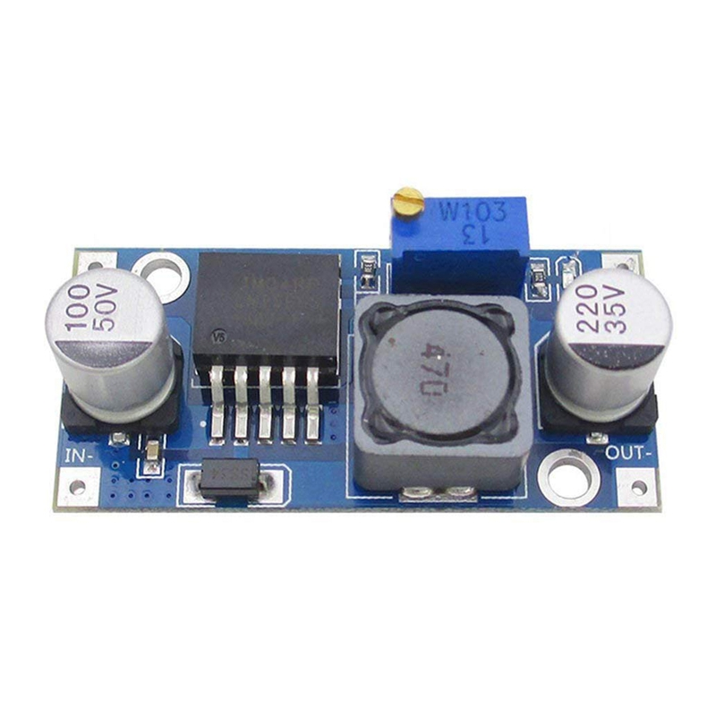 10X Lm2596 <font><b>Dc</b></font>-<font><b>Dc</b></font> Step-Down-Power Modul 3A Einstellbare Buck Modul Stabile Spannung 24V <font><b>Zu</b></font> 12V 5V 3V image