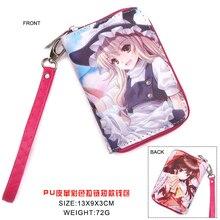 Anime TouHou Project Kirisame Marisa Wallet Hakurei Reimu Money Bag