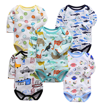 Baby bodysuits infant overalls full body long sleeve suit summer cotton baby clothes