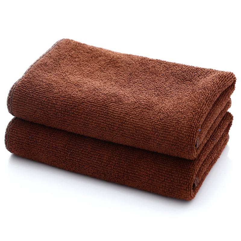 Coffee Absorbent Towel Microfiber Soft Bath Towel Washcloth Kitchen Rag Car Microfiber Absorbent Towel For Bathroom Products