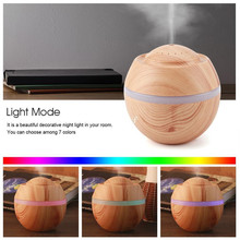 500ML USB LED Air Humidifier Aroma Essential Oil Diffuser Aromatherapy Air Mist Maker humidificador For Home Office цена 2017