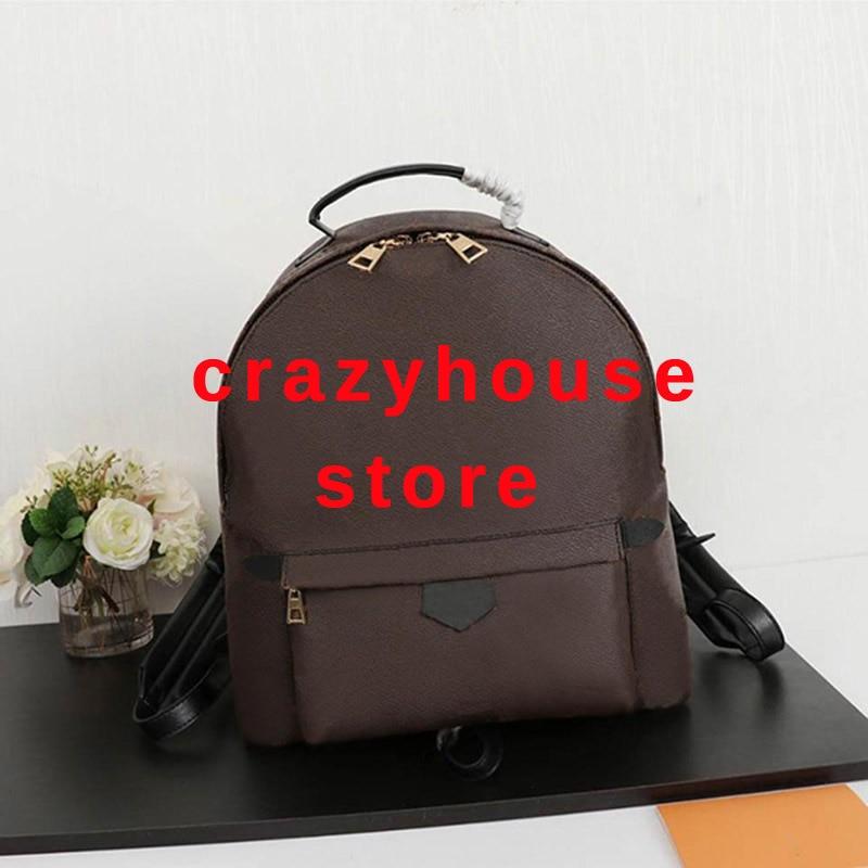 18*22cm Original 2019 en cuir véritable de luxe célèbre shopping designer femmes sacs à dos sacs à dos femmes sac à dos sac à main marque