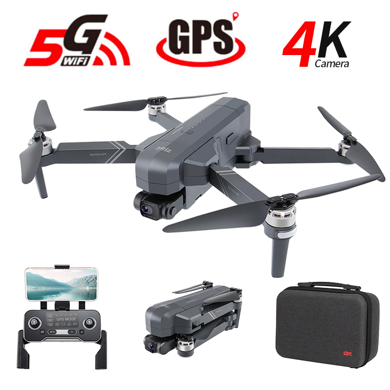 Closeout DealsGPS Drone Camera Wifi Brushless Quadcopter SG906 Sjrc F11 Flight-Time FPV Foldable 25-Minutes