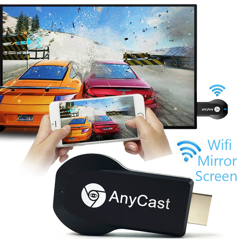 M2 Plus TV stick Wifi Display Receiver Anycast DLNA Miracast Airplay Mirror Screen HDMI Adapter Android