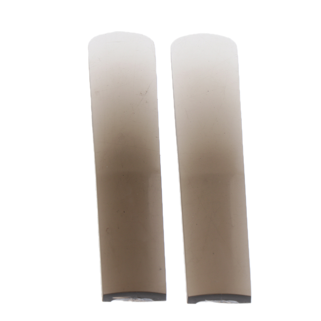2 Pieces Tenor Saxophone Resin Reeds, B Flat, Durable And Long Lasting, Bright Tone