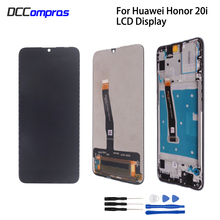 Original For Huawei Honor 20i LCD Display Touch screen Digitizer Repair Parts For Honor 20 i Screen LCD Display Free Tools original lcd screen replacememt for chuwi hi10 cw1526 lcd screen display free shipping