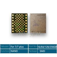 Memória ic 7 para iphone 128 plus, 32gb 64gb 256gb 512gb para iphone 7/7 plus g 7 p u1701 disco rígido hdd chip solve erro 9/4014