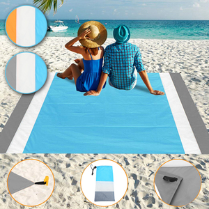 2*2.1M Waterproof Beach Mat Po