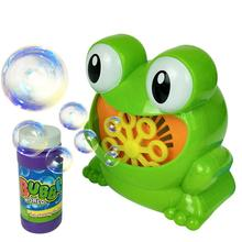 Cute Cartoon Frog Automatic Bubble Machine Blower Wedding Ma
