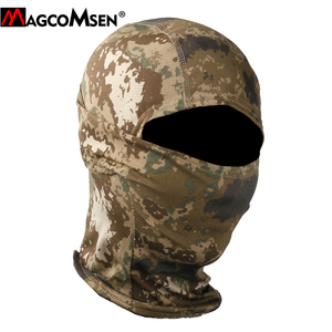 Image 5 - MAGCOMSEN Tactical Camouflage Balaclava Full Face Cover Quick Dry Hunt Shoot Army Bike Helmet Military Equipment  Airsoft Gears