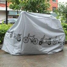 Велосипед MTB водонепроницаемый защитный чехол для велосипеда Велоспорт дождь пылезащитный чехол водонепроницаемая защита серый