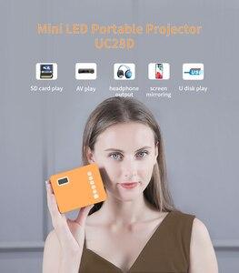 Image 5 - V20 UC28D 프로젝터 SKYSAT V20 HD 디지털 위성 수신기 지원 H.265 HEVC CS Powervu Biss WiFi 3G 셋톱 박스