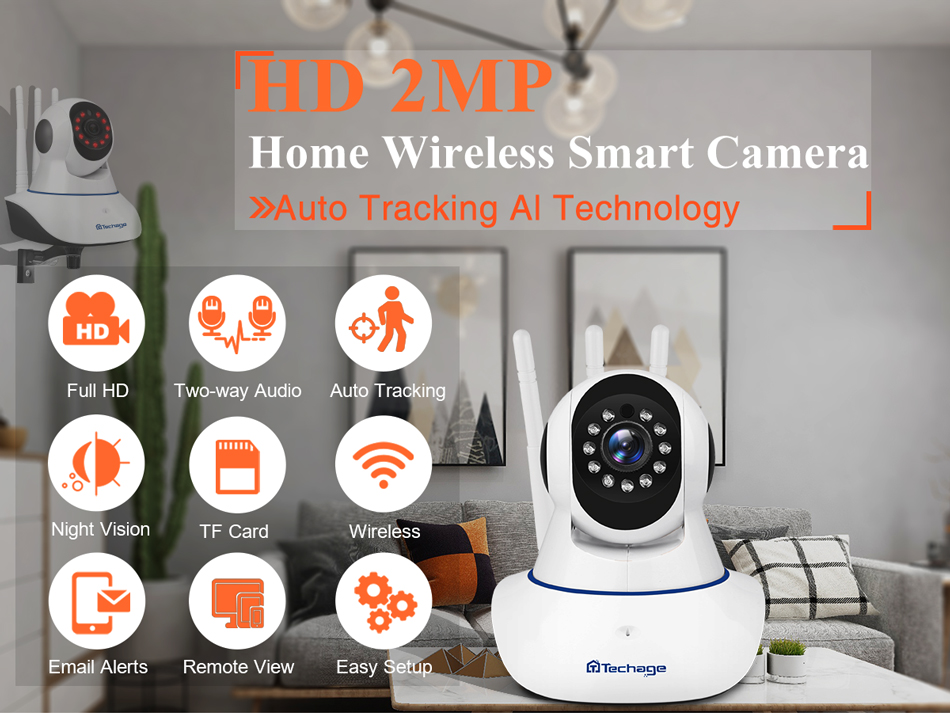 Caméra de surveillance wifi 1080