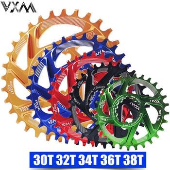VXM Bicycle Chainwheel 30T 32T 34T 36T 38T Narrow Wide Bicycle Chainring For GXP XX1 X9 XO X01 CNC AL7075 Crankset Bicycle Parts vxm bicycle crank
