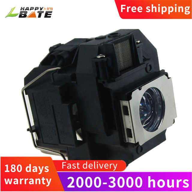 Happybate ELPLP58/ V13H010L58 Projector Lamp for PowerLite X9 PowerLite S9 S10+ PowerLite 1260  H391A H376B H375A H375B H374B