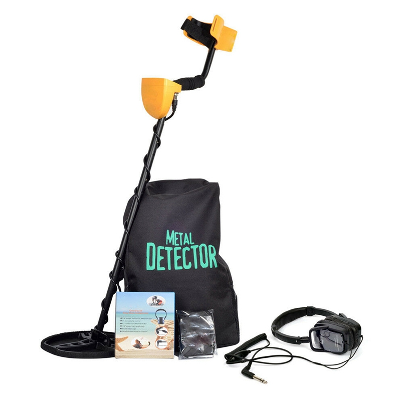 ELEG-TIANXUN <font><b>MD6350</b></font> Underground Metal Detector Professional Gold Digger Treasure Hunter with Liquid Crystal Display Treasure Hun image