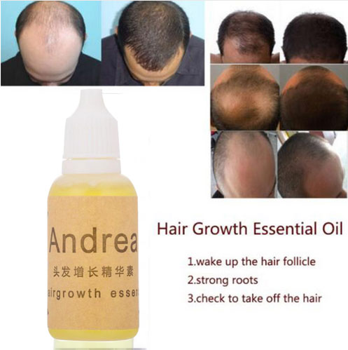 Andrea Hair Growth Oil Essence Thickener for Hair Growth Serum Hair Loss Product 100% Natural Plant Extract Liquid 20ml
