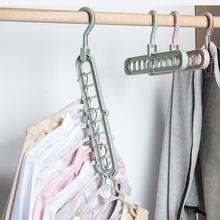 New 3D Space Saving Hanger Cabide Clothes Hook Room Holders Multifunction Closet Hangers Organizer