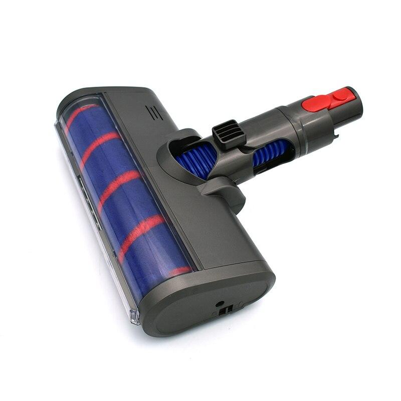 Carpet Hard Floor Motor Head Electric Cleaning Quick Release Soft Roller Brush For Dysons V7 V8 V10 V11 Vacuum Cleaners Parts
