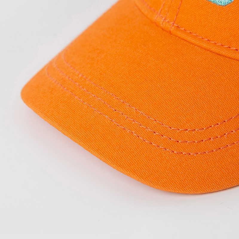 미니 Bababala 어린이 모자 2020 봄 새로운 소년과 소녀 베이비 솔리드 컬러 야구 모자 피크 캡