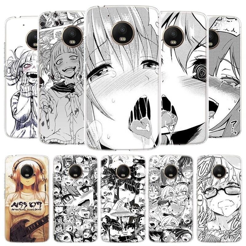 Anime Girl Japan Manga Cover Phone Case For Motorola Moto G8 G7 G6 G5S G5 E4 Plus G4 E5 E6 Play Power One Action EU Gift Shell