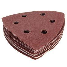 Pads Sanding-Sheets Paper-Mouse Detail-Sander 40-60-80 100-120grit 50pcs Abrasive Triangle-Shape
