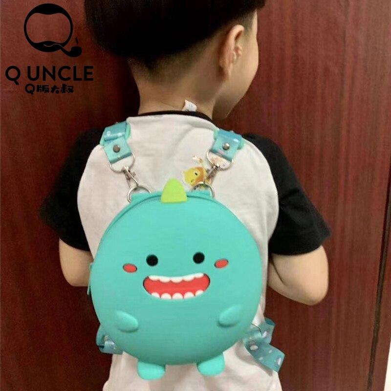 Q UNCLE Fashion Mummy Bag Children School Bag Travel Backpack Nursing Bag For Baby Girls Fashion Bag Backpack Dual-use Mini Bags