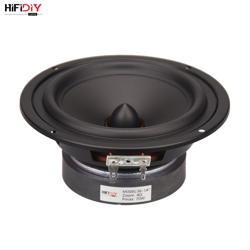 HIFIDIY LIVE HIFI Speakers DIY 5 Inch 5.7
