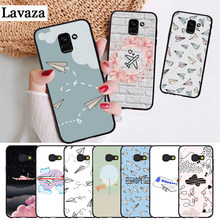 Lavaza Cartoon Air Plane Custom Photo Silicone Case for Samsung J4 Core 2018 Plus J6 Prime J7 Duo J8 2018 Note 8 9 10(China)