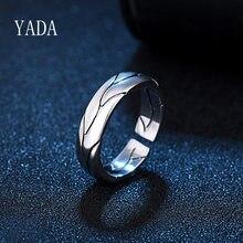 Yada presentes criativo videira folhas fingure anéis para homens ajustável clássico anel de noivado masculino banda anel de jóias de casamento rg200033