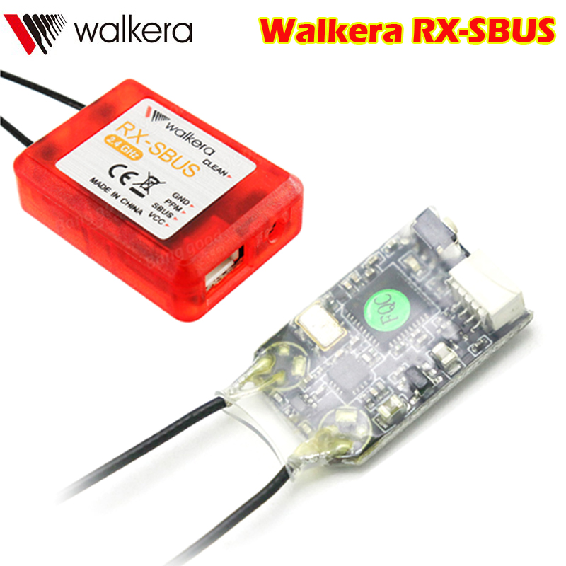 Walkera RX-SBUS 2,4G 12CH salida PPM SBUS Mini receptor para Devo 7/F7/F10/F12E RC modelo FPV Racing Drone Quadcopter