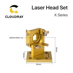 Image 5 - Cloudray K 시리즈 CO2 레이저 헤드 세트 D12 18 20 렌즈 2030 4060 K40 레이저 조각 기계