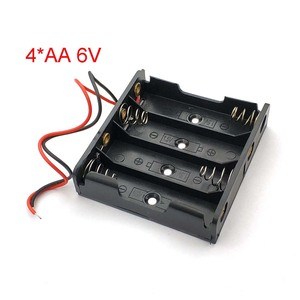 AA Power Battery Storage Case Plastic Box Holder With 4 Slots Top Quality Hot Sale