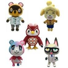 2020 nouveau 18-28cm Animal croisant dessin animé Raymond Jingjiang poupée KK isabelle peluche poupée cadeau d'anniversaire