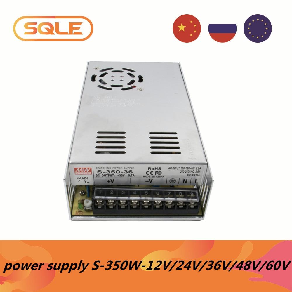 High quality AC Switching Power Supply S-350W S-250W AC input 100v-120v 200v-240v  DC output 12V/24V/36V/48V/60V CE ac dc-0