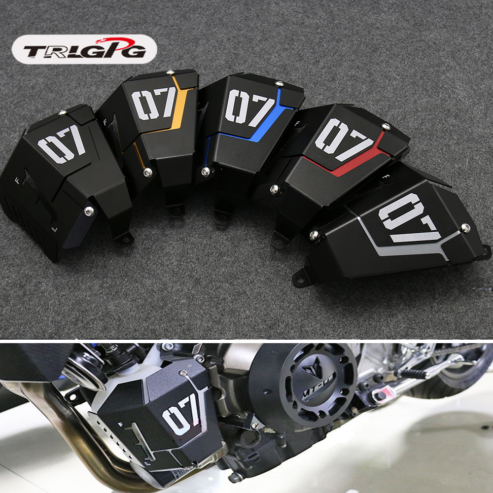 1 PCS For <font><b>Yamaha</b></font> <font><b>MT</b></font>-<font><b>07</b></font> FZ-<font><b>07</b></font> FJ-<font><b>07</b></font> <font><b>MT</b></font>-<font><b>07</b></font> <font><b>Tracer</b></font>/<font><b>Tracer</b></font> 2014-2018 2017Motorcycle Accessories Coolant Recovery Tank Shielding Cove image
