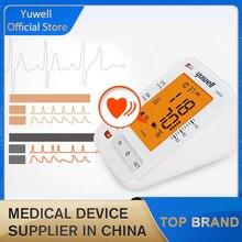 Yuwell 690A kol kan basıncı monitörü LCD dijital kalp atışı ölçüm tansiyon aleti ev sağlık tıbbi cihaz