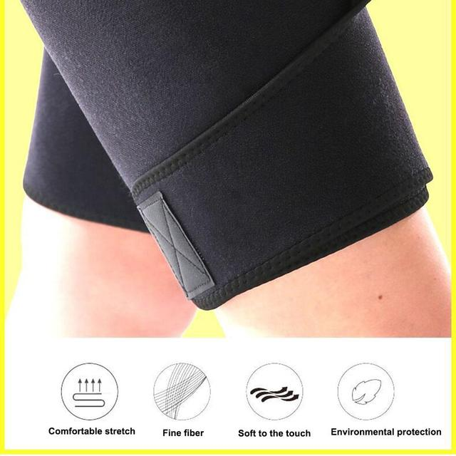 Thigh Sweat Wrap Slimming Sauna Belt Wraps Leg Arm Trimmers Thigh Calories off Shapewear Toned Muscles Band Weight Loss Belt 1