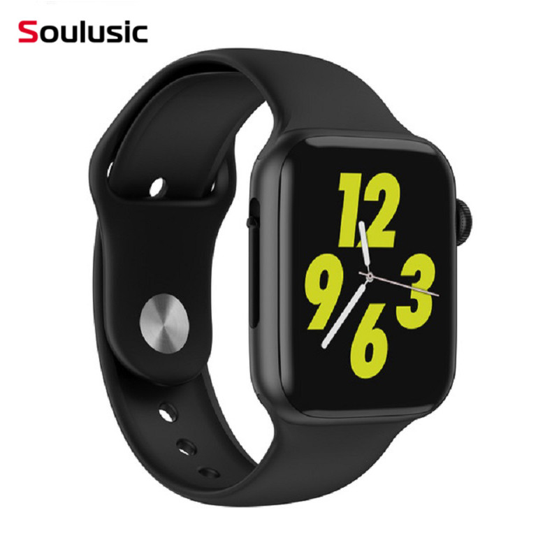Soulusic W34 Bluetooth Call Smart Watch ECG Heart Rate Monitor Smartwatch Iwo 8 Lite Men Women For Android IPhone PK Iwo 8 10