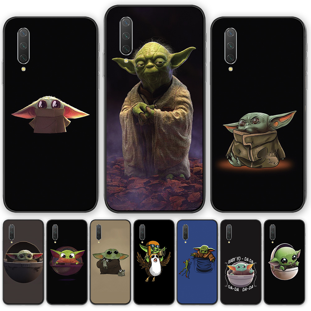 Bady yoda meme cute Cartoon silicone TPU phone case cover For <font><b>Xiaomi</b></font> Redmi5 5A 5plus 6 <font><b>6A</b></font> 6pro 7 Note 4 4X 5 5A 7 8 9T Pro S2 GO image