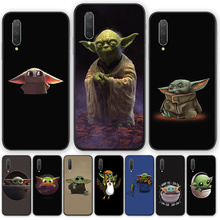 Bady yoda meme cute Cartoon silicone TPU phone case cover For