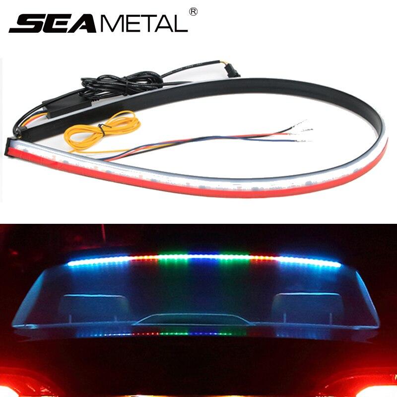 12 В светодиодный автомобильный тормозной светильник, автомобильная дополнительная стоп сигнальная лампа, универсальная сигнальная лампа поворота, высокое крепление тормоза, стоп сигнал заднего хвоста|Сигнальная лампа|   | АлиЭкспресс