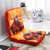 110*52*13cm Cartoon Children's Sofas Living Room Couch Floor Gaming Chair Folding Adjustab Sleeping Sofa Bed Children Furniture