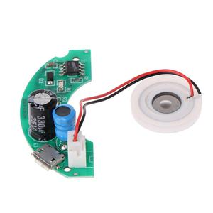 Image 2 - USB Mini Humidifier DIY Kits Mist Maker and Driver Circuit Board Fogger Atomization Film Atomizer Sheet Mini Oscillating