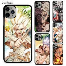 Anime Dr Steen Senku Ishigami Tpu Telefoon Case Voor Iphone X Xs Max Xr 7 8 Se 2020 6S plus 5 11 Pro Max Cover Coque(China)