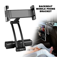 Car Seat Back Headrest Mount Holder Bracket Tablet Car Holder For 4.5 10.5inch Tablet Mobile Phone Holders Back Seat Accessories