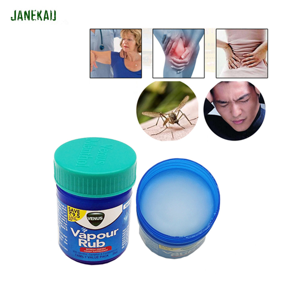 Vapour Rub White Cooling-Blam Ointment For Anti Mosquito Headache Toothache Stomachache Dizziness Essential Balm Tiger Balm R101