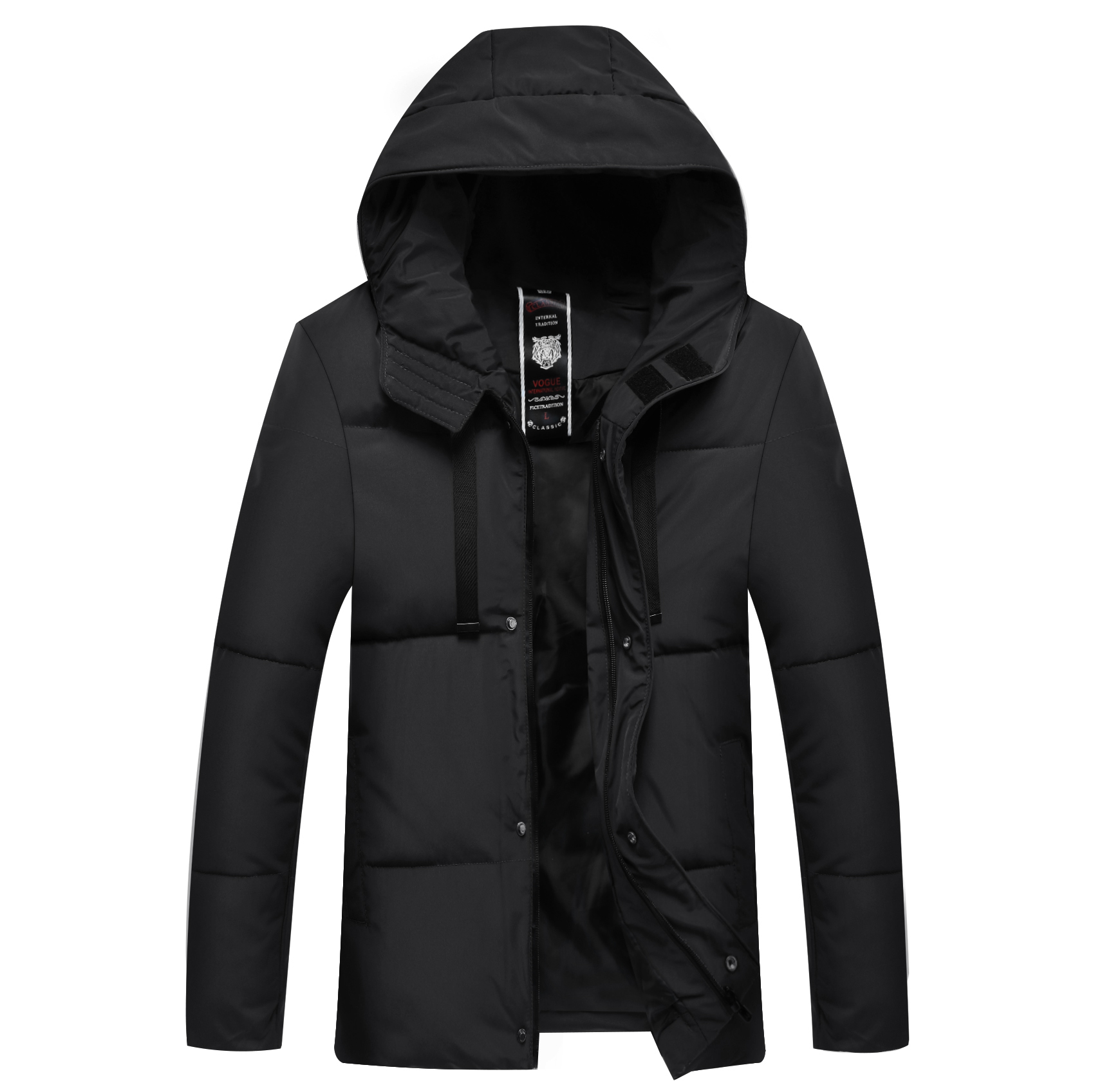 Winter Men's Cotton Garment Business Leisure Warming And Thickening Men's Jacket Men Jacket Winter Mens Winter Jackets And Coat