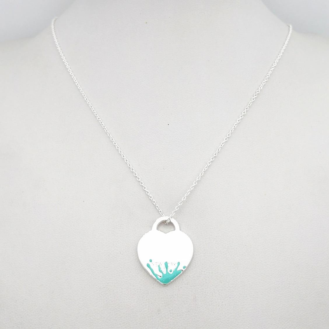 Купить серебрянное женское ожерелье на Алиэкспресс