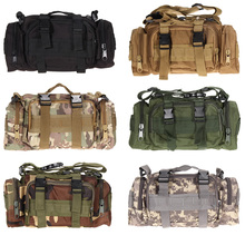 Outdoor Tactical Bag Military Molle Backpack Waterproof Oxford Camping Hiking Climbing Waist Bags Travel Shoulder Bag Pack
